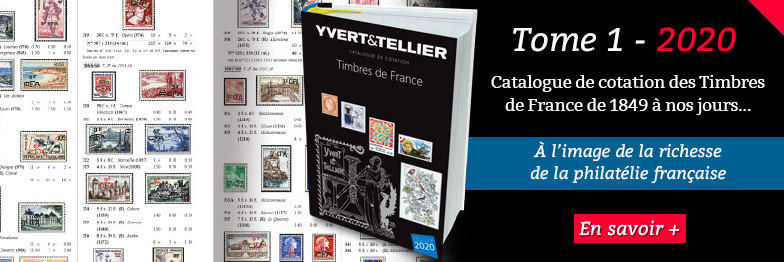 Catalogue de cotation des Timbres de France - 2020 - YVERT et TELLIER
